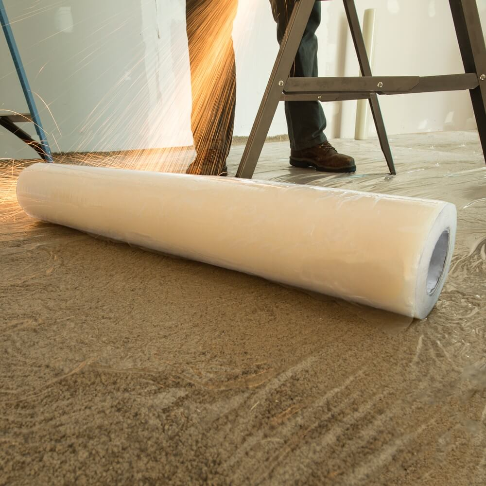 ace plastics Clear Adhesive PE Carpet Protection Film