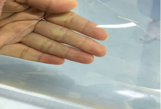 ace plastics 0.05-0.50mm Super Clear Flexible PVC Transparent Film Manufacturer