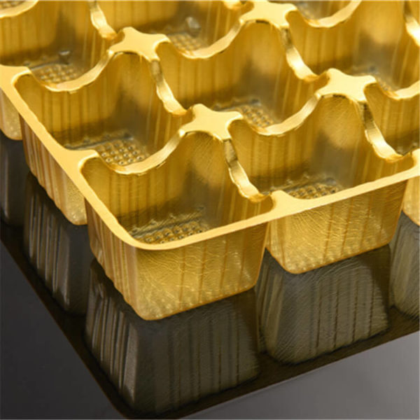 0.5mm Gold Color Rigid PVC Plastic Sheet For Thermoforming