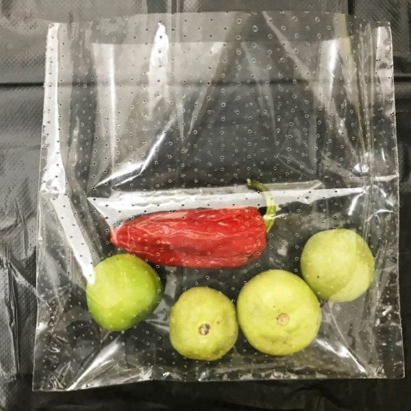 clear Micro Perforated Films For Perforated food fruit Packaging bag