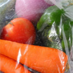 clear Micro Perforated Films For Perforated Packaging food fruit